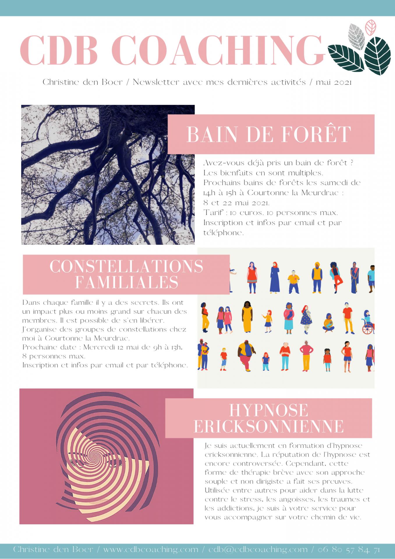 Newsletter cdb 2 mai 2021