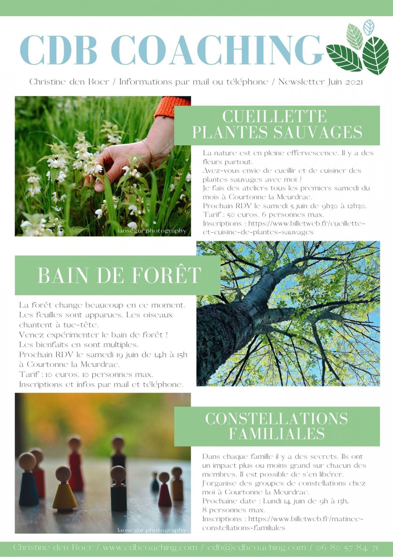 Newsletter cdb 3 juin 2021